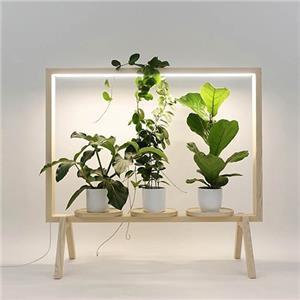 استند مجهز به لامپ رشد گیاه
